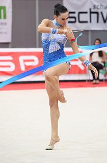 Liubov Charkashyna Belarusian rhythmic gymnast