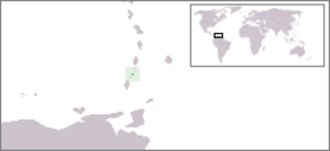 Canouan - Location of Canouan