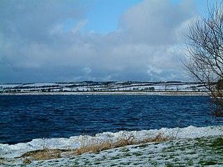 Loch Watten lake in the United Kingdom