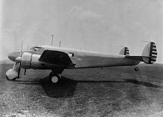 Lockheed Model 12 Electra Junior - U.S. Army Air Corps C-40B with fixed tricycle landing gear