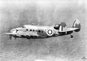 No. 206 Squadron RAF - A 206 Sqn. Lockheed Hudson over the North Sea in 1940.