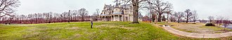 Lockwood–Mathews Mansion - Image: Lockwood Mathews Mansion Panaromic, Norwalk, CT 06854, USA December 2012