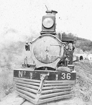 Argentine North Eastern Railway - Neilson locomotive that served on the line.