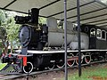 Locomotiva Phantom, popularmente chamada de Maria-fumaça, instalada na praça Francisco Schimidt, Vila Tibério em Ribeirão Preto. A locomotiva era utilizada pela Usina Amália e foi doada em 191 - panoramio (3).jpg