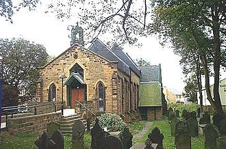 Lofthouse, West Yorkshire - Image: Lofthouse, Christ Church geograph.org.uk 228040