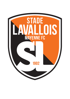 Stade Lavallois - Image: Logo Stade Lavallois Mayenne FC 2015
