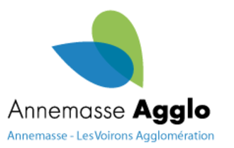 Agglomeration community of Annemasse – Les Voirons - Image: Logo EPCI d'Annemasse Les Voirons Agglomération
