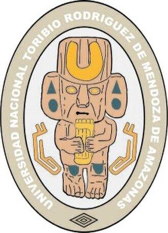 National University Toribio Rodríguez de Mendoza - Image: Logo UNAT A