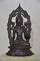 Lokanatha - Bronze - Pala Period Circa 9th-10th Century AD - Nalanda - Archaeological Museum - Nalanda - Bihar - Indian Buddhist Art - Exhibition - Indian Museum - Kolkata 2012-12-21 2317.JPG