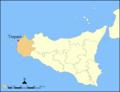 Lokatie van Trapani op Sicilië.png