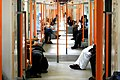 London Overground train, Saturday afternoon - panoramio.jpg