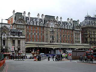London Underground and railway station