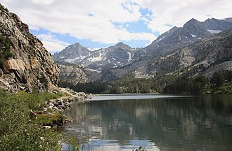 John Muir Wilderness - Image: Long Lake in Little Lakes Valley