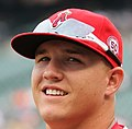 Los Angeles Angels center fielder Mike Trout (27) (5971185473).jpg