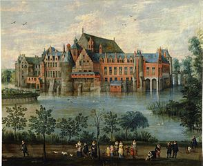 View of Tervuren Castle