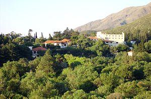 Sierras de Córdoba - Touristic town of Los Cocos