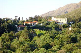 Sierras de Córdoba - Touristic town of Los Cocos.