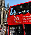 Lothian Buses route branding, Route 26 Connect.jpg