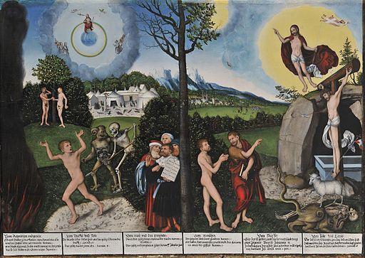 Lucas Cranach d.Ä. - Verdammnis und Erlösung (Schloss Friedenstein)