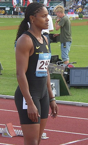 2007 South American Championships in Athletics - Lucimar de Moura (above) won triple gold at the championships