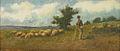 Ludovic Bassarab - Cioban cu turma de oi.jpg