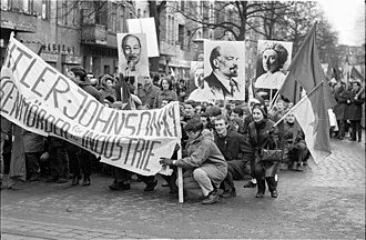 German student movement - 1968 student protest