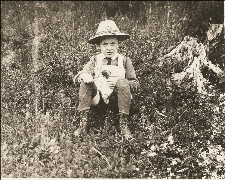 Ludwig as a child