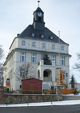 Lugau rathaus