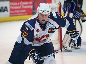 Lukáš Smítal - Image: Lukas smital guildford flames hockey
