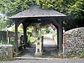 Lych gate, St Mary's Church, Sompting - geograph.org.uk - 1336589.jpg