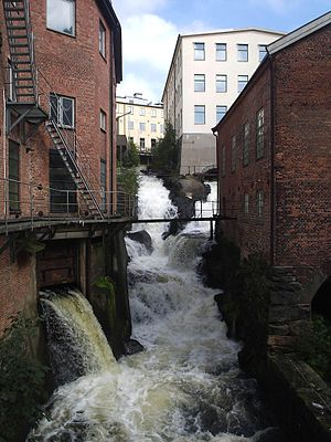 Mölndal - Old industrial area, today a tourist attraction