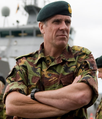 Chief of Defence Force (New Zealand) - Image: MAJGEN Tim Keating