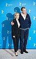 MJK32883 Gillian Anderson and Hugh Bonneville (Viceroy's House, Berlinale 2017).jpg