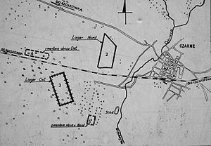 Stalag II-B - Map of the Stalag IIB POW compounds