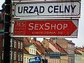 MOs810 WG 35 2015 Dolnoslaskie Zakamarki II (Sex shop, Urzad Celny, Legnica).JPG