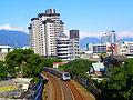 MRT Red Line Train Nearby Guandu Station 20111023.jpg