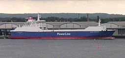 M/S Global Freighter PowerLinen väreissä