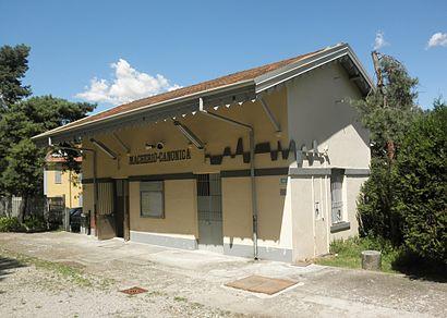 How To Get To Stazione Di Macherio Canonica In Macherio By