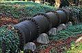 Machines de Marly. Détail tuyauterie en fonte sur la colline de Bougival.jpg