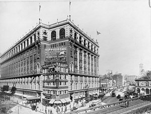 National Register of Historic Places listings in Manhattan - Image: Macy's Herald Square LC USZ62 123584
