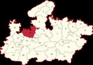 Rajgarh (Lok Sabha constituency) Lok Sabha Constituency in Madhya Pradesh, India