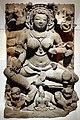 Madhya pradesh, dea della pace durga con dieci braccia seduta su un trono di leoni, xi secolo.jpg