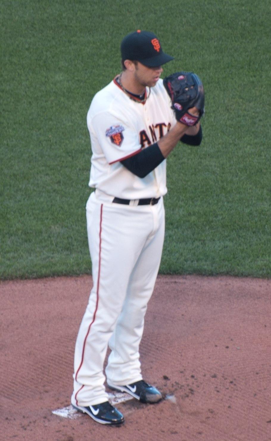 Madison Bumgarner on June 21, 2011