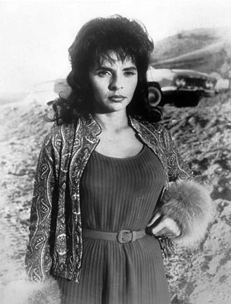 "Space Seed - Madlyn Rhue (pictured in 1961) was cast as Lt. Marla McGivers in ""Space Seed""."