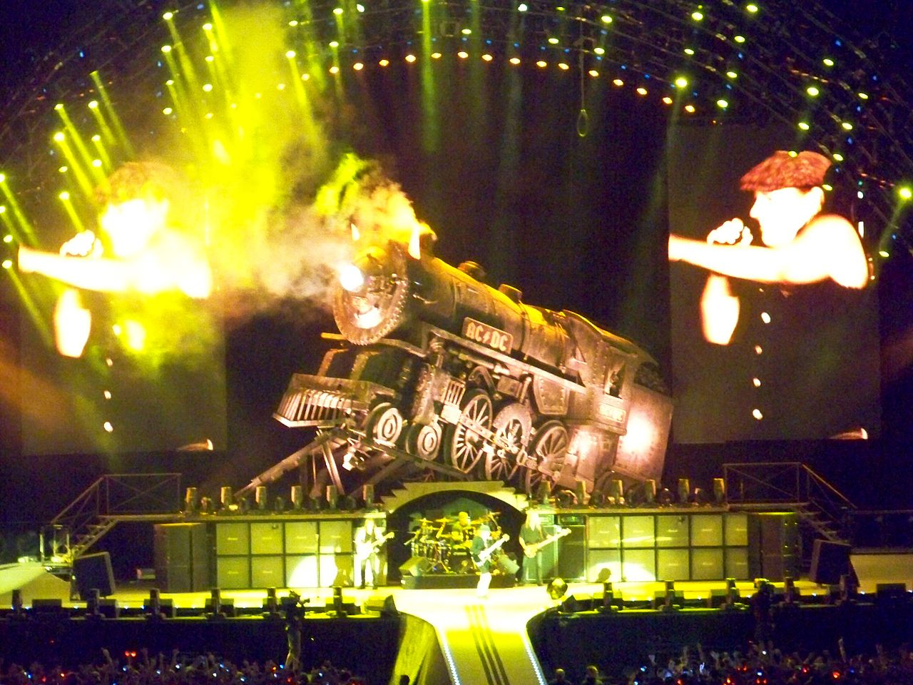 Acdc World Tour  Locations