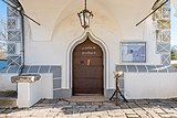 Magdalensberg Sankt Lorenzen Filialkirche hl. Laurentius Vorhalle Portal 11012019 5868.jpg