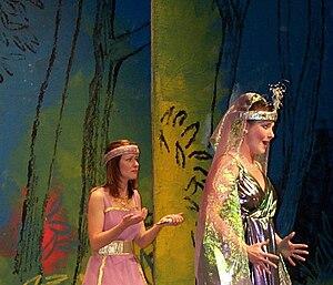 Scena da Il flauto magico. Fife Opera