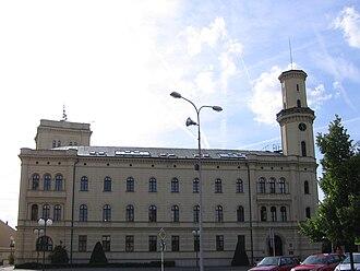 Mladá Boleslav - Image: Magistrat Mlada Boleslav