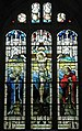 Magnificent stained glass window above the altar at St Mary's, Portchester - geograph.org.uk - 1085466.jpg