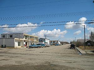 Entwistle, Alberta - Main Street